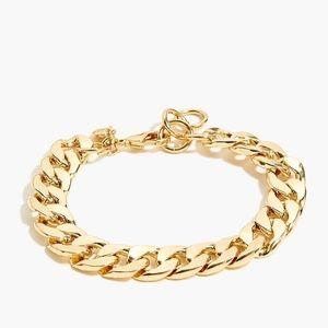 New with Tag J. Crew Gold Bracelet